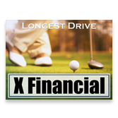 Long Drive Contest Sign