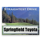 Straightest Drive Sign